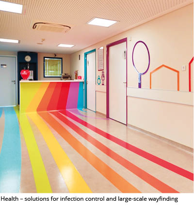 ERFMI resilient flooring in healthcare