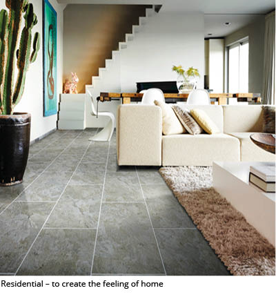 ERFMI resilient flooring in homes